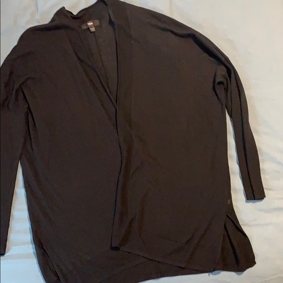 Mossimo Supply Co. Sweaters - Black open front cardigan
